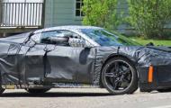 2020 Chevy Corvette spy shots